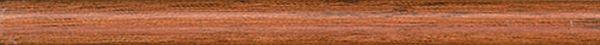 Бордюр карандаш ДЕРЕВО коричневый матовый