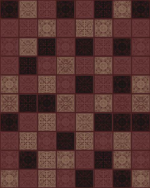 Плитка настенная ARABESGUE коричневый