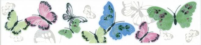 Бордюр ПРАЗДНИК КРАСОК бабочки