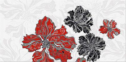 Декор ВАЛЬКИРИЯ Цветы 1