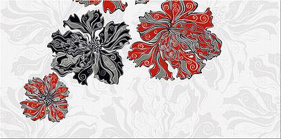 Декор ВАЛЬКИРИЯ Цветы 2