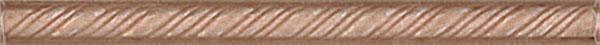 """Бордюр карандаш """"КОСИЧКА"""" коричневый"""