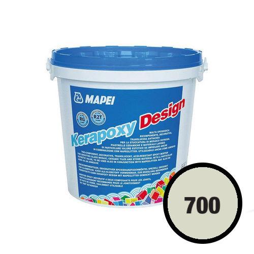 Двухкомпонентный декоративный шовный заполнитель KERAPOXY DESIGN 700 Прозрачный