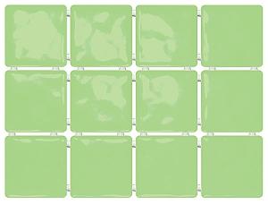 Сезоны зеленый, полотно 30х40 из 12 частей 9,9х9,9