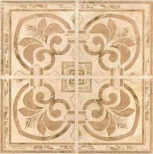 Декор ГАНГ коричневый