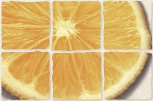 "Декор COCTAIL ""лимон"" светло-бежевый"