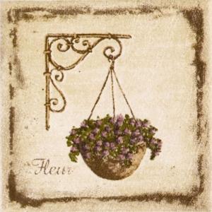 Декор ПРОВАНС (цветы)