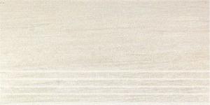 Керамическая ступень ШАЛЕ белый обрезной