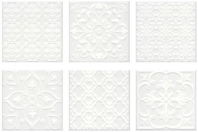 Плитка Суррей белый