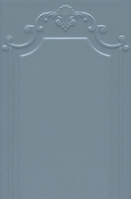 Плитка настенная ПЛАНТЕ лазурный темный панель 3 сорт
