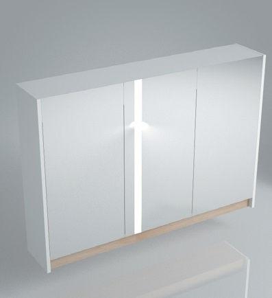 Зеркальный шкаф BUONGIORNO 100 белый