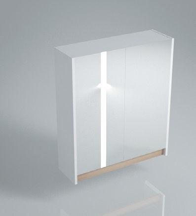 Зеркальный шкаф BUONGIORNO 60 белый