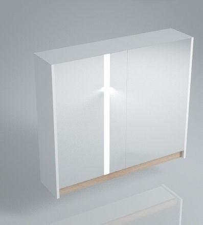 Зеркальный шкаф BUONGIORNO 80 белый