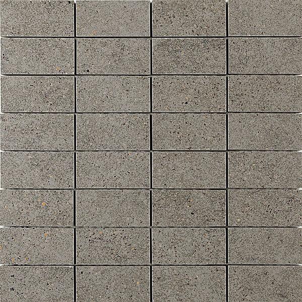Декор мозаичный ФЬОРД серый