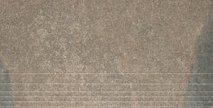 Керамогранит ГИМАЛАИ коричневый ступень обрезной