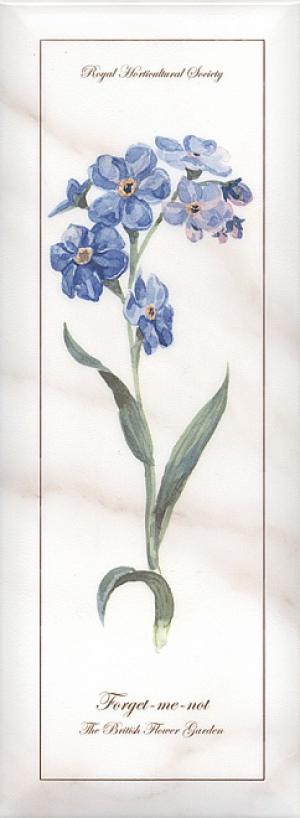 Декор Ноттингем Цветы грань