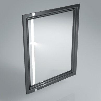 Зеркало POMPEI 60 черный