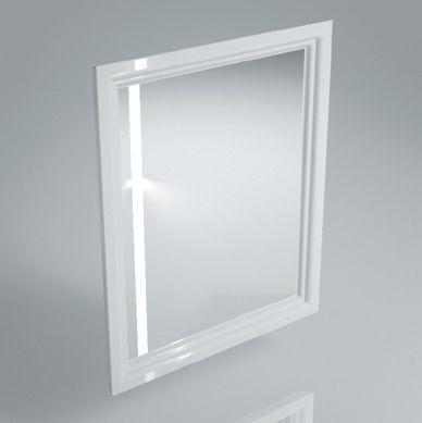 Зеркало POMPEI 60 белый