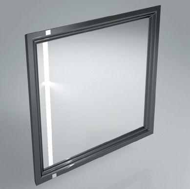 Зеркало POMPEI 80 черный