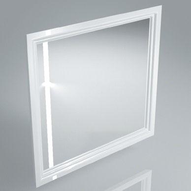 Зеркало POMPEI 80 белый