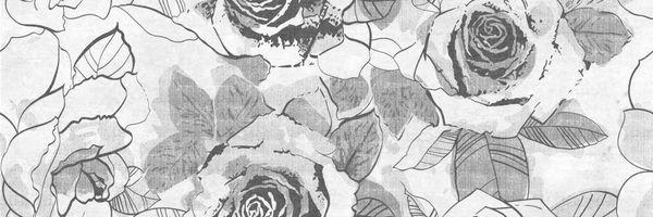 Вставка SONATA многоцветный розы