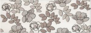 Декор Ньюпорт Цветы коричневый