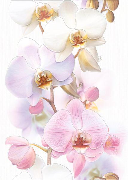 Вставка VILENA Orchids белый