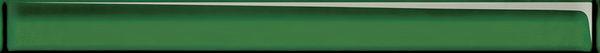 Бордюр стеклянный UNIVERSAL GLASS зеленый