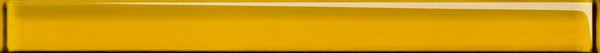 Бордюр стеклянный UNIVERSAL GLASS желтый