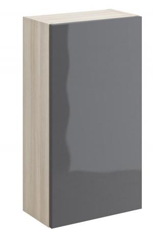 Шкафчик настенный SMART универсальный, серый
