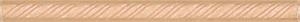 Бордюр карандаш КОСИЧКА желтый