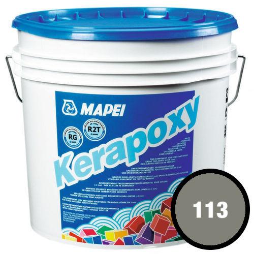 Двухкомпонентный эпоксидный раствор и клей KERAPOXY 113 Цементно-серый