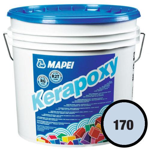 Двухкомпонентный эпоксидный раствор и клей KERAPOXY 170 Крокус голубой