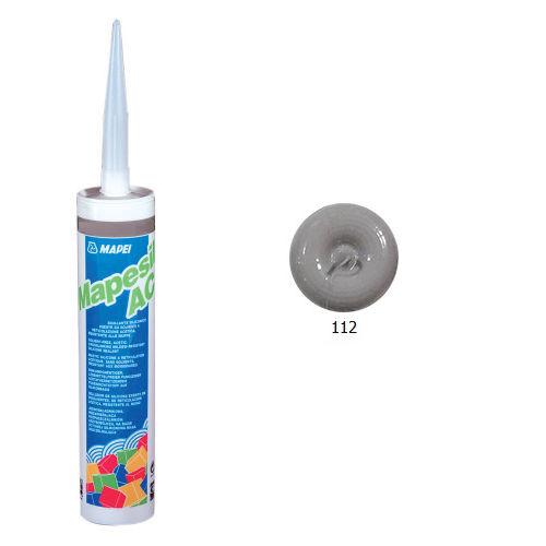 Однокомпонентный силиконовый герметик MAPESIL AC 112 Серый