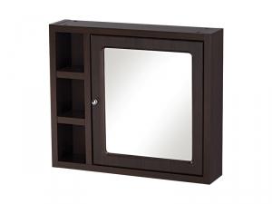 Зеркало-шкафчик MOCCA без подсветки, венге