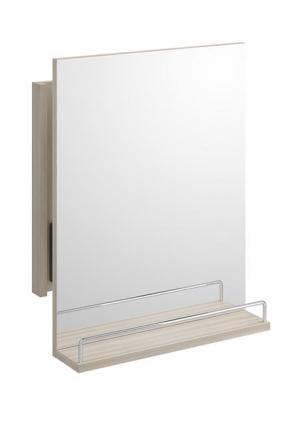 Зеркало SMART без подсветки, с выдвижным механ., с полк.