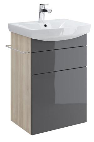 Тумба п/раковину SMART для CARINA 50, серый