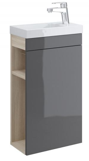 Тумба п/раковину SMART для COMO 40, серый