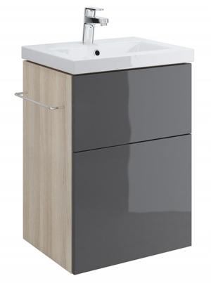 Тумба п/раковину SMART для COMO 50, серый