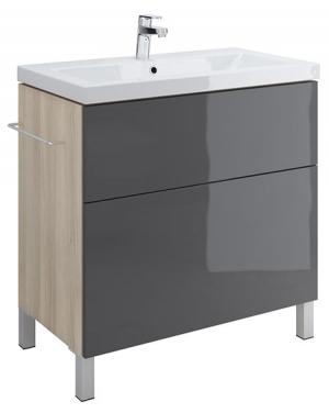 Тумба п/раковину SMART для COMO 80, серый