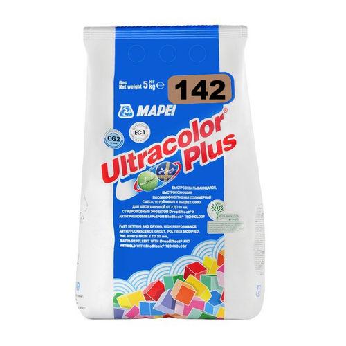 Цементная затирка ULTRACOLOR PLUS 142 Коричневый