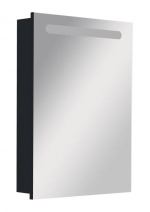 Victoria Nord Black Edition зеркальный шкаф, левый