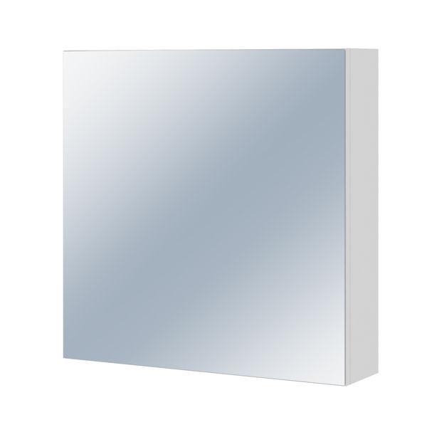 Зеркало-шкафчик COLOUR/EASY без подсветки белый