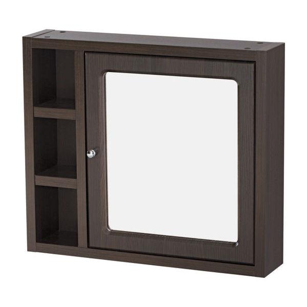 Зеркало-шкафчик MOCCA без подсветки венге